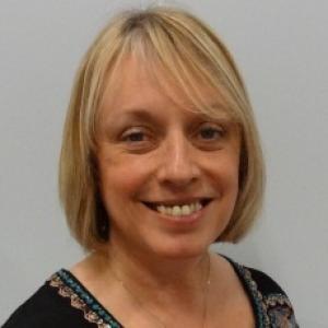A close up of Fiona Jones smiling