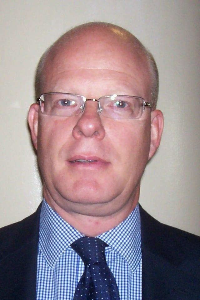 Ian Gleeson in close up