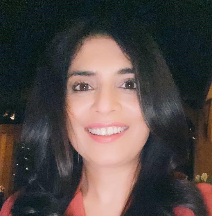 Pooja Bagga smiles