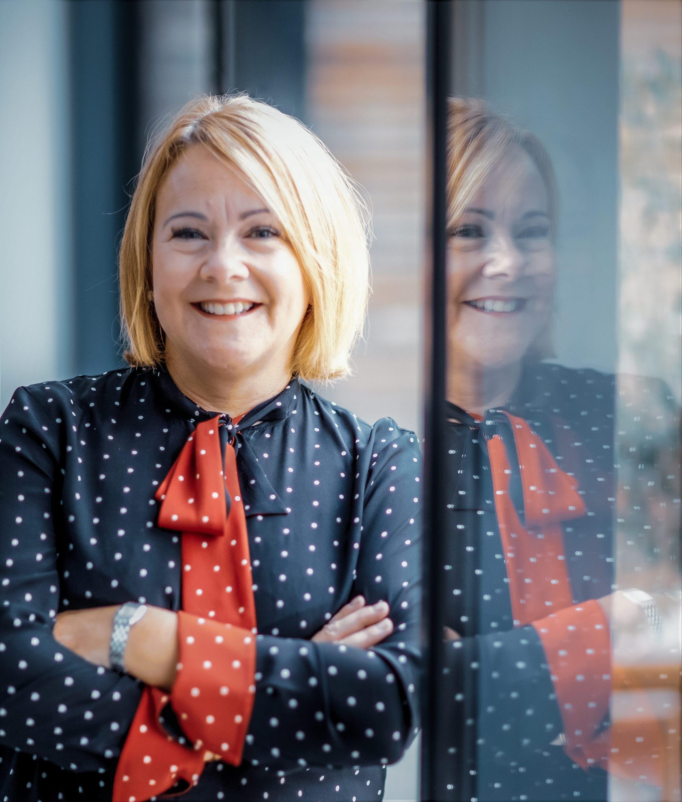Catherine Schlieben smiles