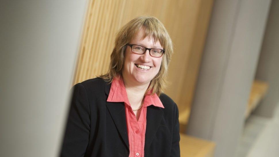 Professor Doctor Petra Molthan-Hill smiles