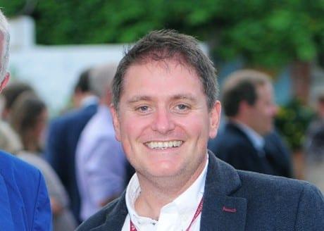 Dan James smiling at the camera
